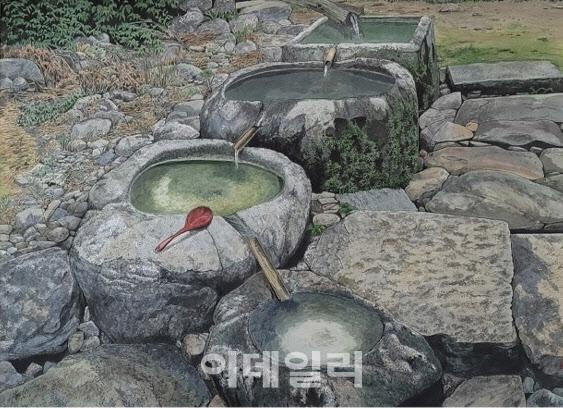 [e갤러리] 물과 바위도 대화를 하건만…이상표 '소통'