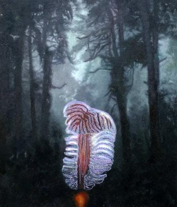 [e갤러리] 숲에서 정체모를 생명체와 마주친다면…홍일화 '임시풍경'