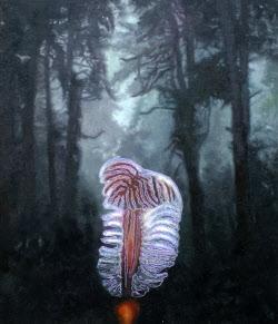 숲에서 정체모를 생명체와 마주친다면…홍일화 '임시풍경'