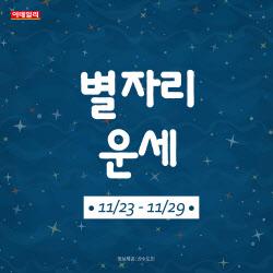 [카드뉴스]2020년 11월 넷째 주 '별자리 운세'