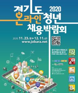`경기도 청년채용 박람회` 23일부터 3주간 온라인서 열려