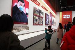 [단독]우한 영웅은 시진핑? 야전병원 전시장 탈바꿈