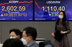 [외환브리핑]외국인 '사자' 행렬에 상단 막힌 원·달러