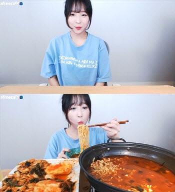 """쯔양, 복귀 이유는 돈? """"月 식비 600만원"""""""