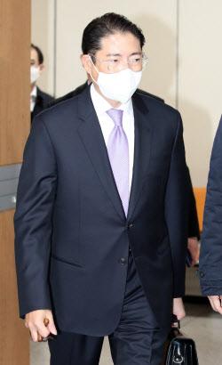 [포토]조현준 효성 회장, 항소심서 징역 2년 집행유예 3년