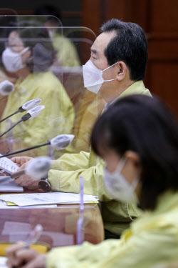[포토] 코로나19 대응 중대본 회의