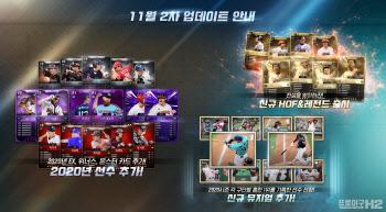 엔씨소프트 'H2', 2020년도 선수카드 업데이트