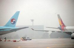 첫 고비 넘긴 대한항공+아시아나 통합 항공사 출범 '산 넘어 산'
