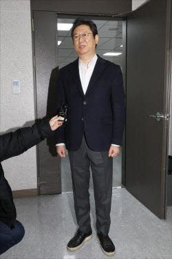 [포토]소감 밝히는 황희 의원, '문체부 장관에 내정'