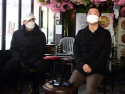 [포토]안철수, '이태원 상인들 의견 청취'