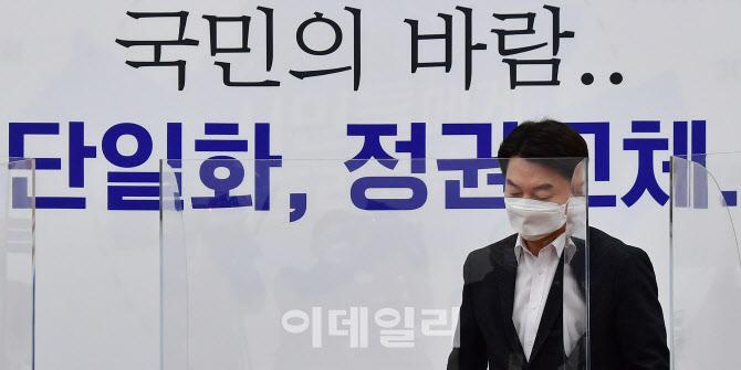 '최고위 참석하는 안철수 대표'