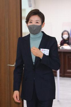 [포토]'서울시장 공천 면접 마친 나경원 전 의원'