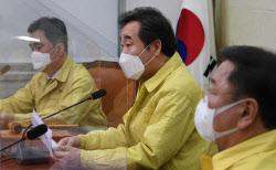 [포토]민주당 최고위, '발언하는 이낙연 대표'