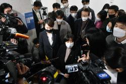 [포토]김종철 정의당 대표, '동료의원 성추행... 정의당 참담'