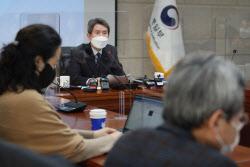 [포토] 기자간담회 갖는 이인영 장관