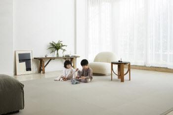 LG하우시스, 친환경·내구성 강화한 'LG Z:IN 안심매트'