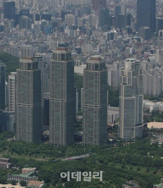 """'주거 상업'타워 팰리스 55 억…""""2 · 4 대책 이후 더 상승 할 것"""""""