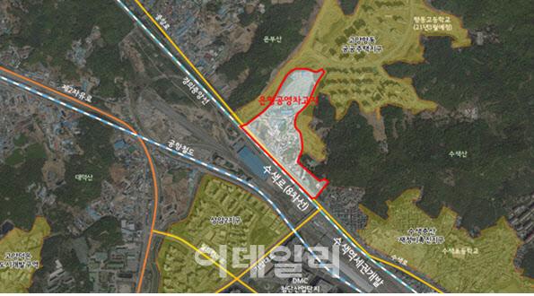 은평 공영 차고 본격 개발… 서울시는 기본 컨셉 서비스 추진