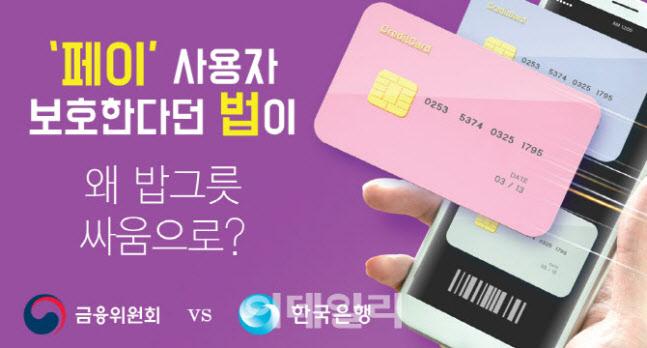 """한국 은행, 은성수 반발 """"정음 법 '빅 브라더'논란은 오해 다"""""""