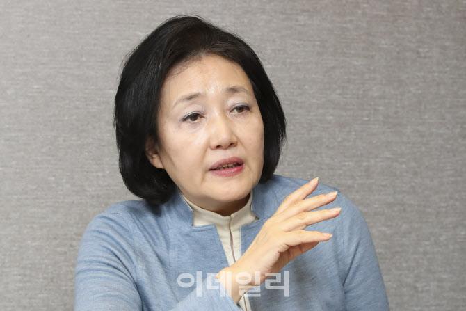 """박영선 """"35층 규제풀고, 강남 재건축 허용"""""""