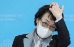 """김진애 """"민주당, 단일화 절박함 없어…박영선에 스탠딩 토론 제의"""""""