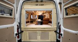 [포토]차 안에 집이 그대로, 모터홈으로 편하게 캠핑 다니세요!