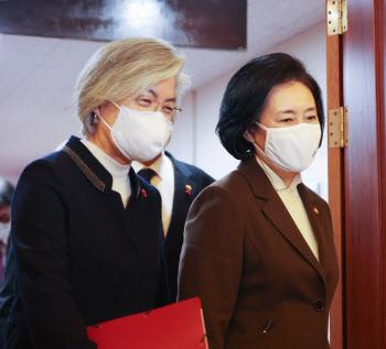 강경화 전 장관, 박영선 캠프 국제협력위원장 맡기로