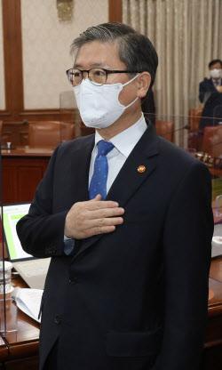 [포토]'LH 투기' 의혹에 시선 집중된 변창흠 국토교통부 장관