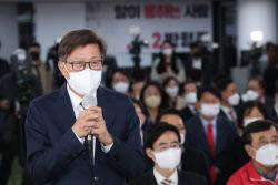 [리얼미터] 4·7 부산 보궐 '박형준 58.3% vs 김영춘 40.4%'