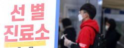 [포토]신규 확진, 주말 검사량 감소에도 사흘째 600명대