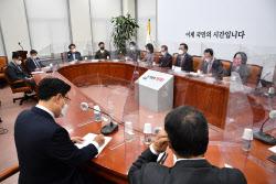 [포토]국민의힘 비대위, '모두발언하는 주호영 권한대행'