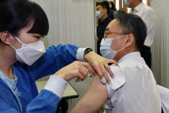 백신 1차 누적 접종 115.7만명, 전체 인구 약 2.23% 수준(종합)