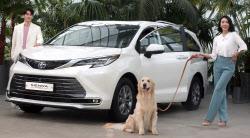 [포토]국내 첫 하이브리드 미니밴, 토요타 '뉴 시에나 하이브리드' 한국상륙