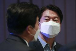 [포토]'이코노믹포럼 참석한 안철수 대표'