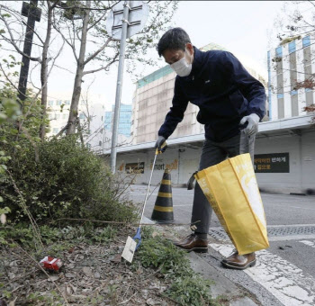 정용진 부회장이 이마트 성수점 주변 청소한 이유