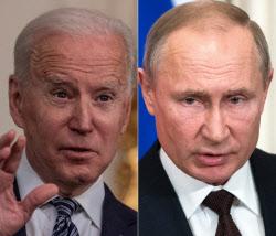 """美, 무더기 對러시아 제재후 """"대화로 풀자""""…바이든式 당근과 채찍 전략?"""