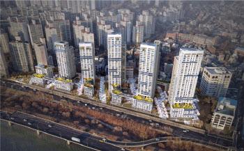 한강변 용산 산호아파트 건축심의 통과…35층 재건축