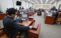 [포토]교육위 전체회의, '정회'