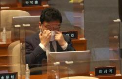 [포토]이상직 무소속 의원, '체포동의안 가결'