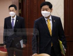 [포토] 백신 점검회의 참석하는 구윤철 국무조정실장