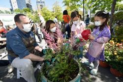 [포토]세계 각국의 정원이 만리동광장에 모이다