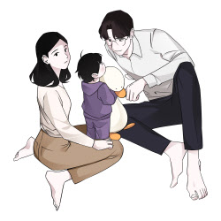 """""""낮에는 킬러·밤에는 엄마""""…다음웹툰 '유부녀 킬러'"""