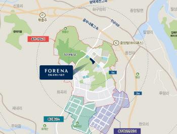 한화건설, 충주기업도시에 '한화 포레나 서충주' 분양