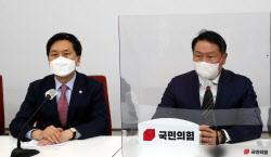 [포토]'국민의힘 예방한 최태원 대한상의 회장'