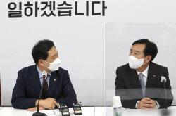 [포토]대화하는 김기문-김기현