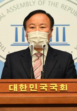 [포토]김재원, '국민의힘 최고위원 출마'