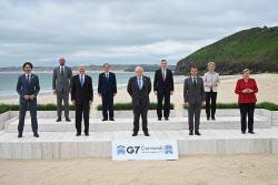 """""""중국 일대일로 깬다"""" G7, 새 인프라 파트너십 합의"""