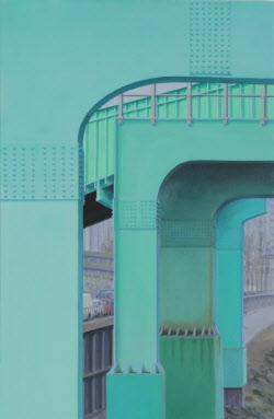 [e갤러리] 서울 신도림 녹색다리의 미학…잉고 바움가르텐 '무제'