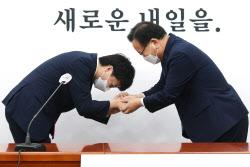 [포토]김부겸 국무총리, 이준석 대표 예방