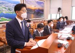 [포토]국토위, '발언하는 노형욱 장관'
